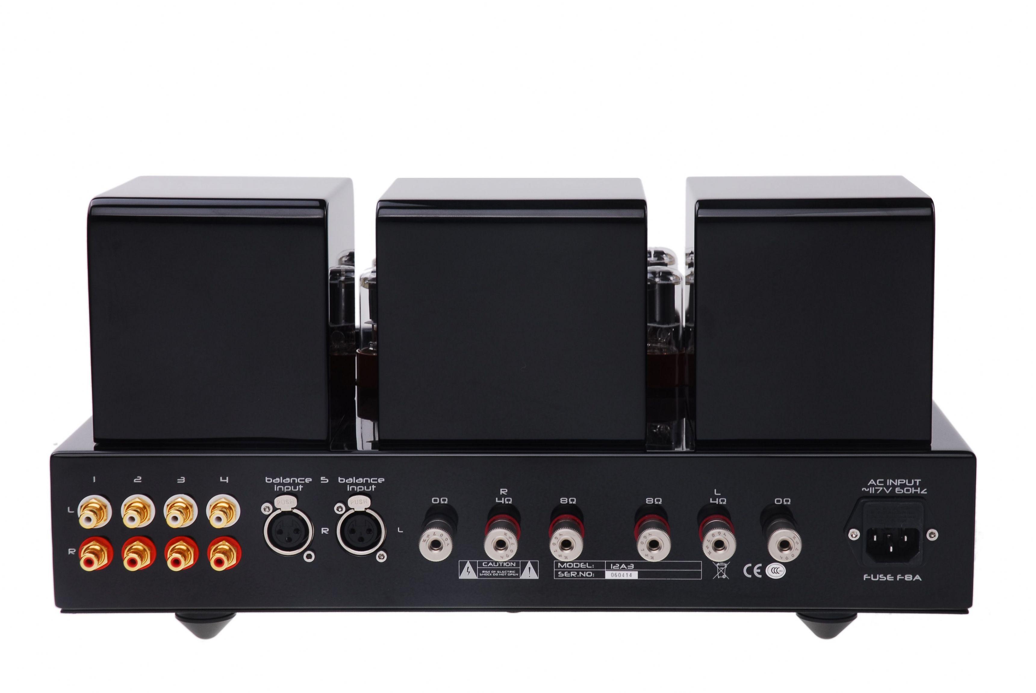 Melody Dark El34 Integrated Amplifier Audio Emotion